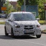 Папарацци опубликовали фото нового Opel Karl