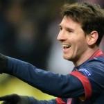 Лионель Месси повторил рекорд по голам за всю историю Лиги чемпионов