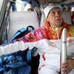 Умер самый пожилой факелоносец в истории эстафет олимпийского огня