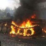 Украинская армия случайно уничтожила 4 танка и 200 боевиков