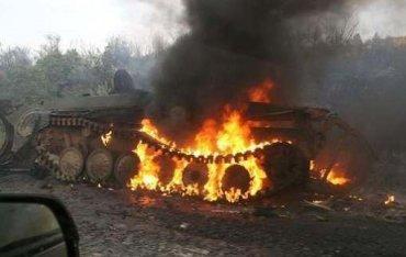 армия случайно уничтожила 4 танка