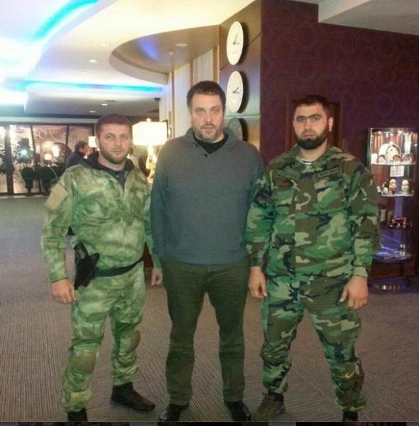 фотографии с российскими оккупантами