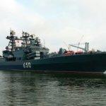 На территорию Латвии вторгся российский военный корабль, сопровождающий подводные лодки
