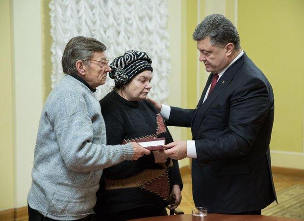 орден родителям Михаила Жизневского