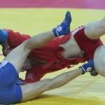 Сборные России по самбо выиграли командный зачет ЧМ во всех трех видах