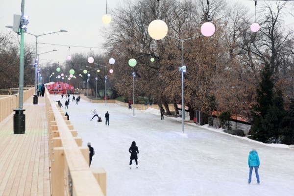 Парки подготовились к зиме