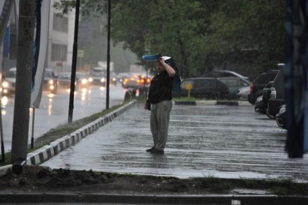 в столице пройдут дожди