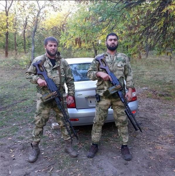Чеченские наемники