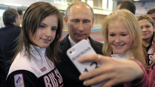 Путин поздравил чемпионов