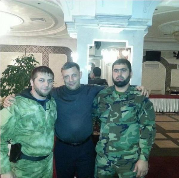 лидер «ДНР» Захарченко