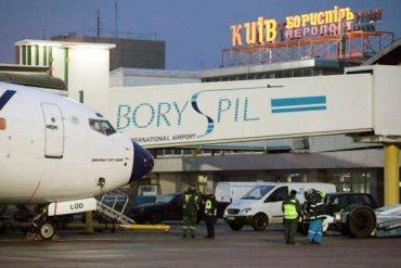 Сотрудники «Борисполя» разрисовали самолет