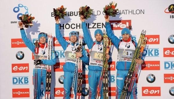 Мужская сборная РФ по биатлону