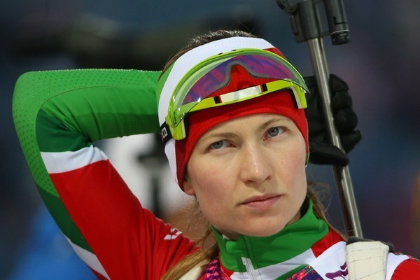 Дарья Домрачева из Белоруссии
