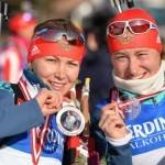 Биатлонисты из РФ завоевали две медали на этапе Кубка мира в Австрии