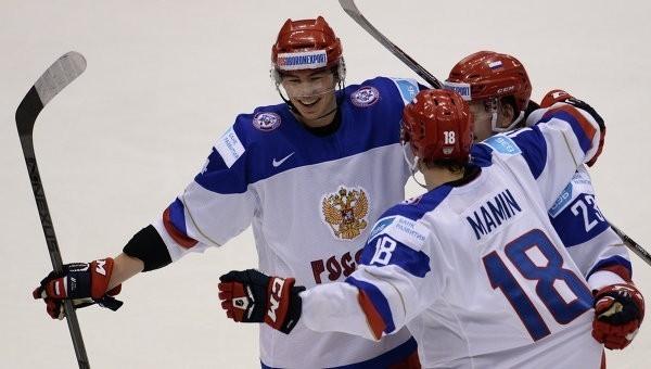 Хоккеисты России разгромили команду Швейцарии