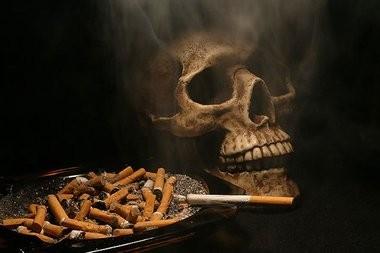 вероятность смерти от курения