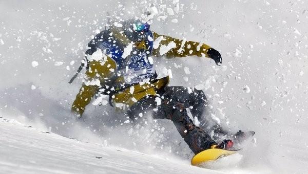 сноубордист Вик Уайлд