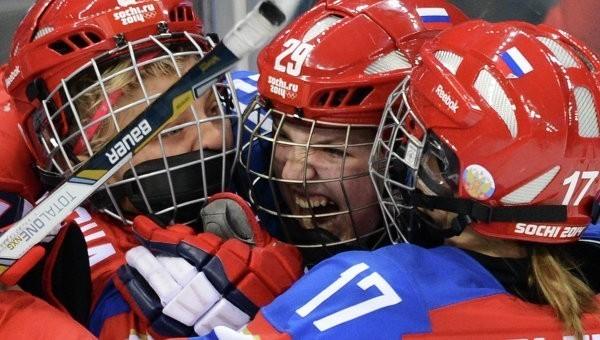 Женская сборная России похоккею