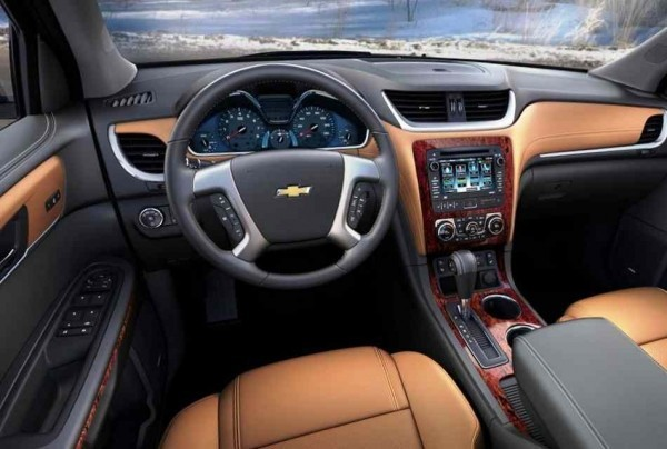 Chevrolet Traverse 2013 фото салона