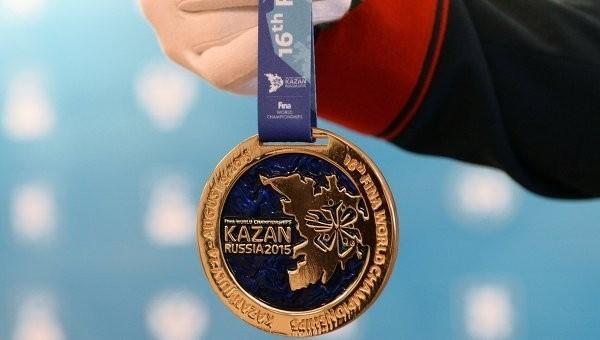 Медали ЧМ по водным видам спорта