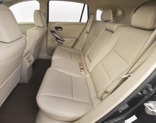 Acura RDX 2014 пассажирские сиденья