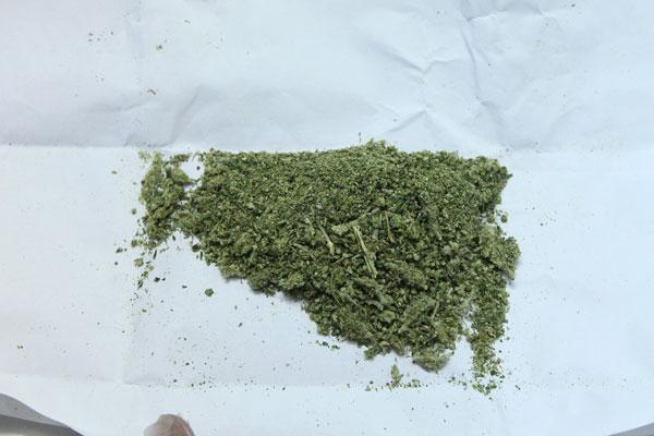 Москвич торговал марихуаной