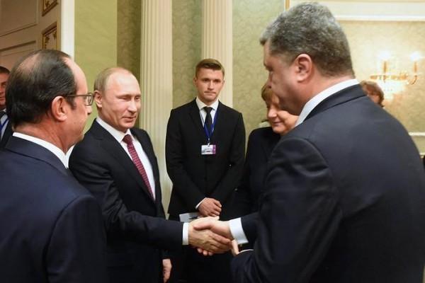 Путин доволен итогами переговоров