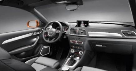 Audi Q3 фото салона