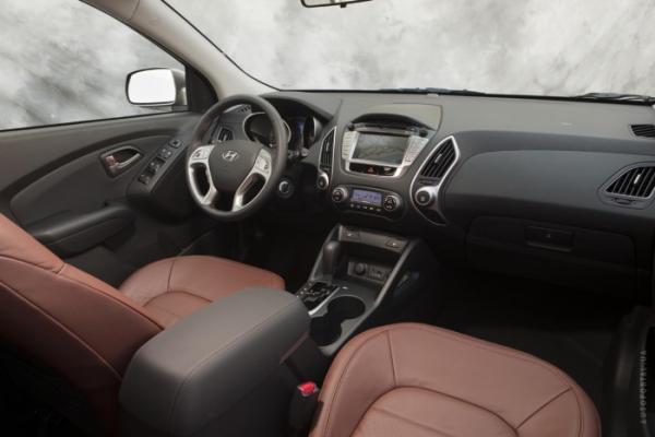 Салон Hyundai ix35