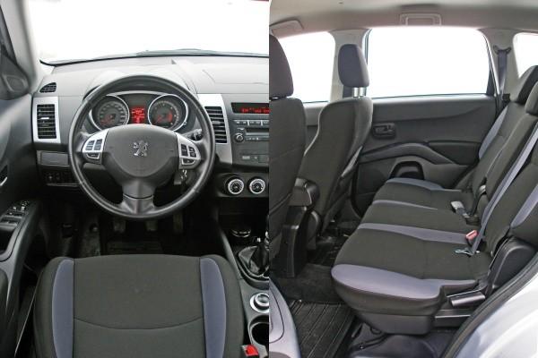Peugeot 4007 фото салона