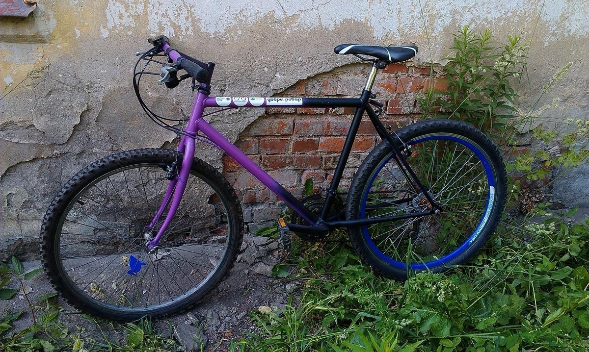 украденный велосипед