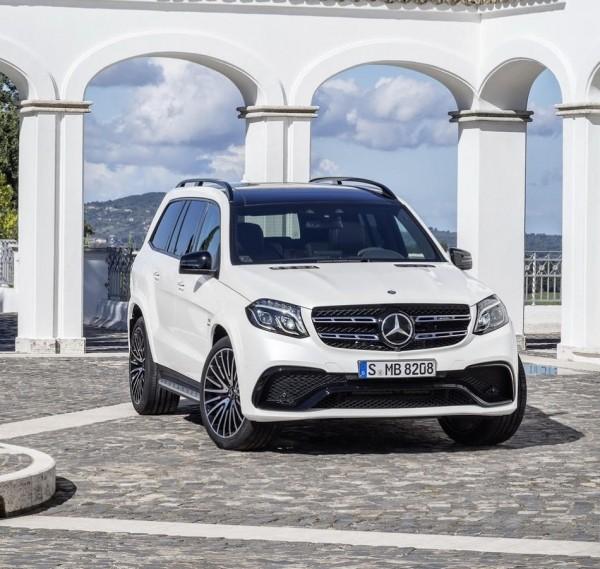 Mercedes GLS 2016–2017