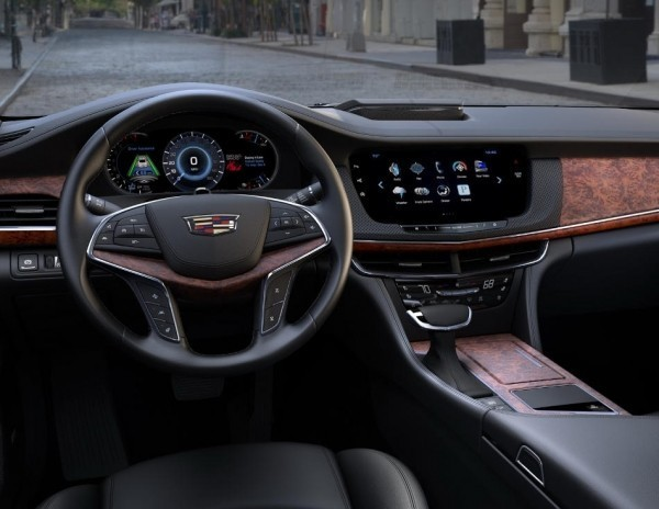 Cadillac CT6 2018 фото салона