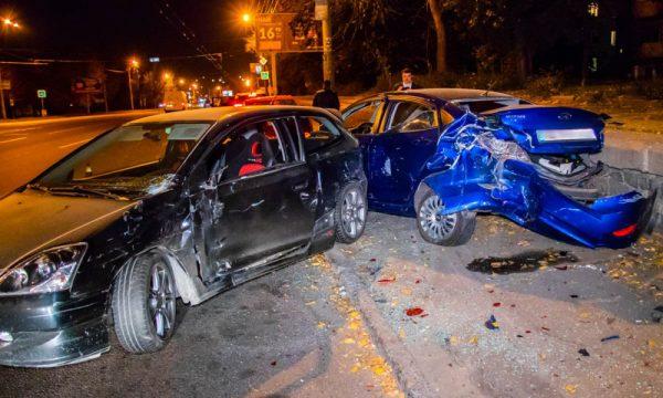 авария с участием автомобилей