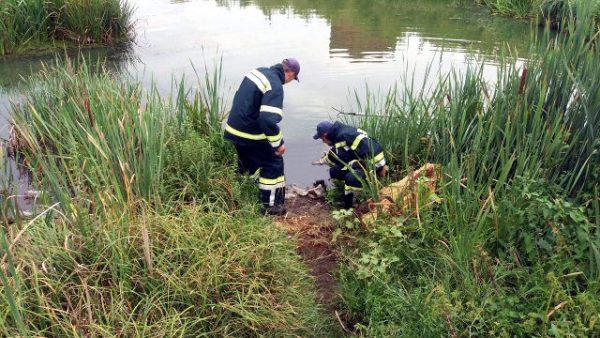 тело мужчины в реке