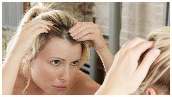 седение волос