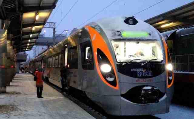 поезд из Кошице в Мукачево