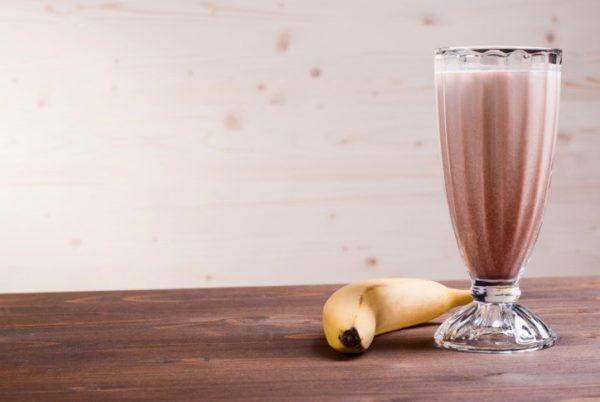 коктейль Кофейно-банановый