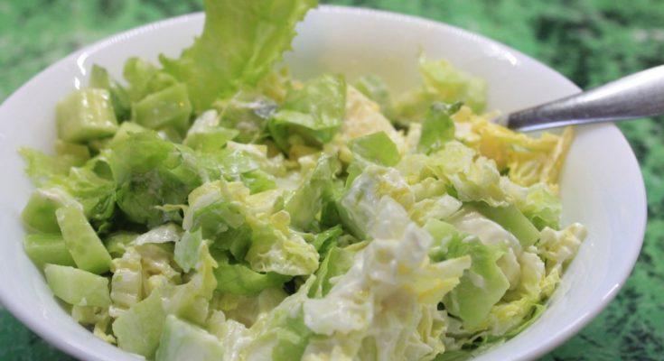 Приготовление капустного салата