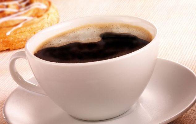 порция чёрного кофе