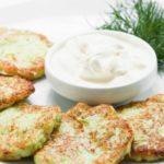 Оладьи кабачковые с укропом и сыром