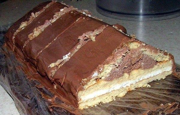 Приготовление шоколадного домика