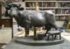 Место памятника корове на Комаровке решили поменять